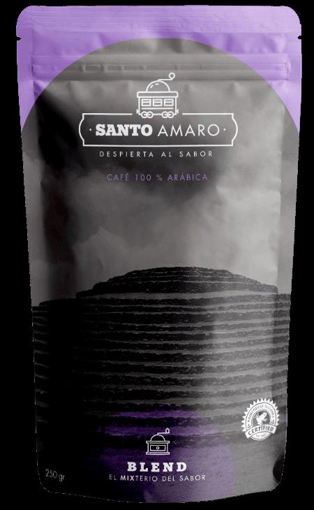 paquete café blend 100% arábica