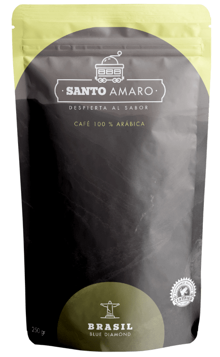 paquete café de brasil 100% arábica