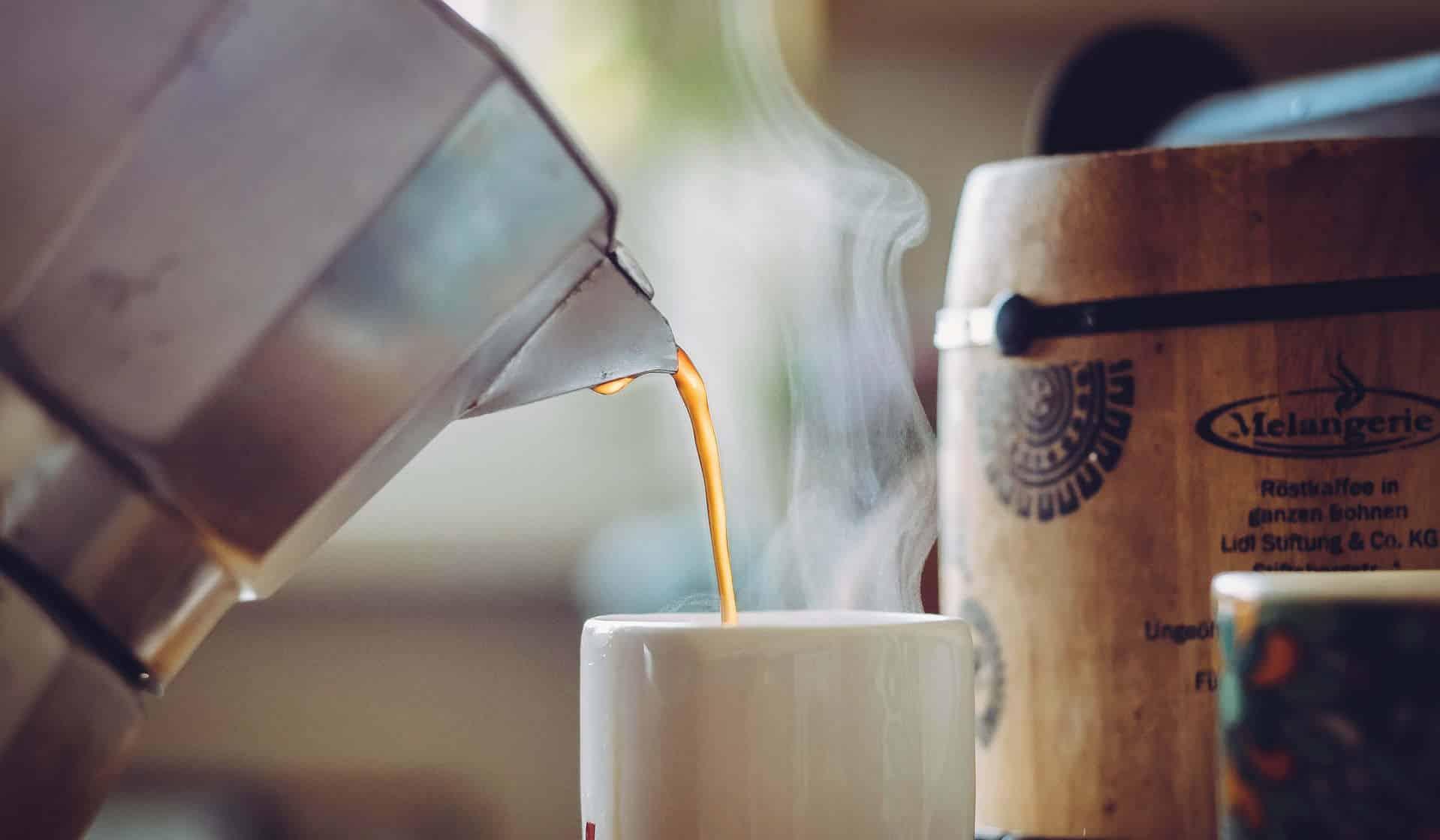 Preparar café en casa: la Moka italiana